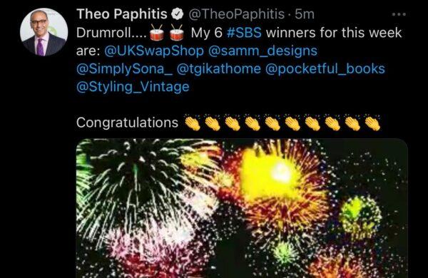 Swap Shop Tweet